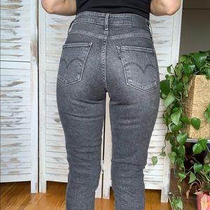 Levi's 721 high rise skinny jeans sz 27